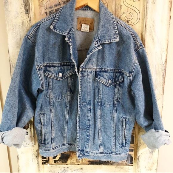 55217c66807 GAP Jackets   Blazers - Vintage 80 s GAP Denim oversized jacket.